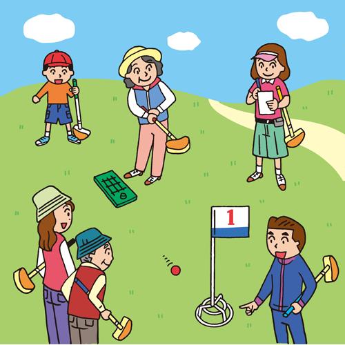 「グランドゴルフ」の画像検索結果